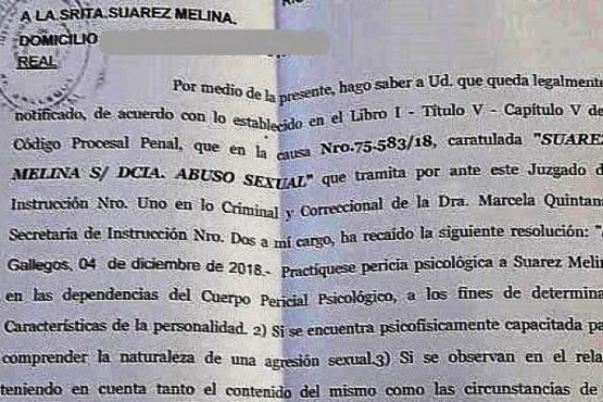 Denunció el abuso hace 15 meses, le hicieron la pericia psicológica y espera resolución de la Jueza