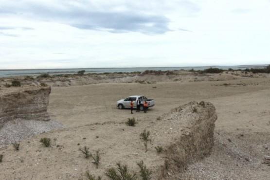 Minería inspeccionó canteras en Puerto San Julián