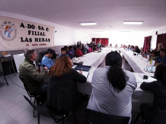 ADOSAC se reunió en Las Heras.