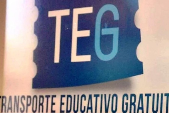 El jueves se pone en marcha el sistema del TEG