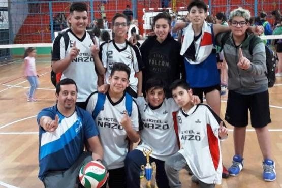 Río Turbio y Santa Cruz A festejaron en el provincial Sub-15