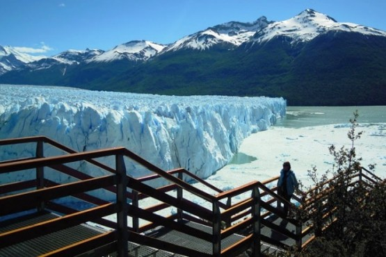 Llevan tranquilidad respecto de los servicios en el Glaciar Perito Moreno