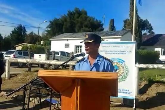 Inicio del ciclo lectivo de la policía del Chubut