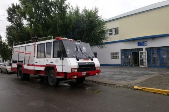 Alumnos de la 39 evacuados por principio de incendio