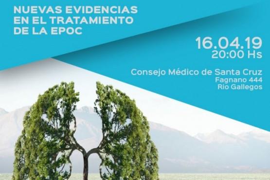 Realizarán charla sobre EPOC