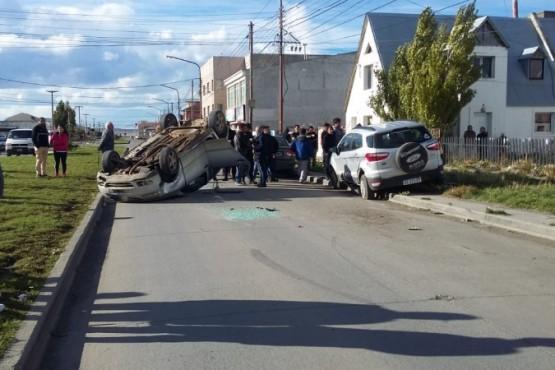 Accidente en la ciudad dejó dos heridos
