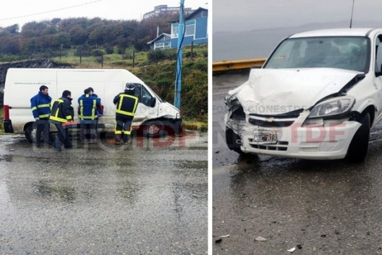 Violento choque en la localidad de Ushuaia