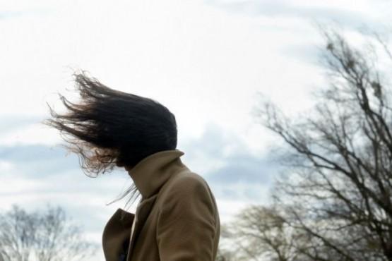 Alerta por vientos intensos con ráfagas de hasta 110 km/h