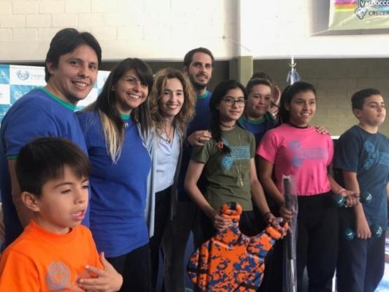 García puso en valor el convenio entre CPE y Fundación Valdocco