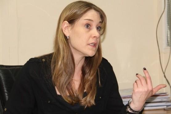 Lorena Beltrán, subsecretaria de las Mujeres.