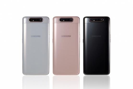 La nueva línea de Samsung, en sus tres colores.