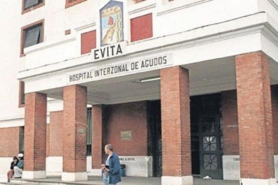 El Hospital Evita, en Lanús. FOTO: EL TERMÓMETRO