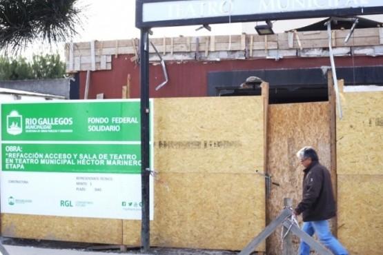 Pedido de informe por la situación de obra del Teatro Municipal