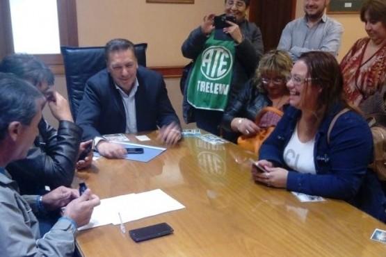 Acordaron aumento para municipales de Trelew