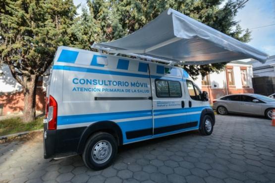 Gobierno presentó nuevos consultorios móviles