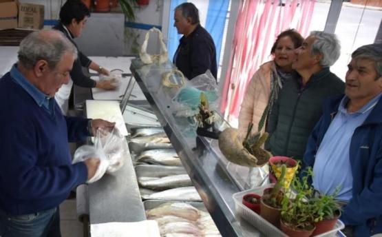 Por Semana Santa se incrementan las ventas en pescaderías