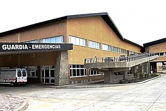 El hombre fue asistido en el Hospital SAMIC de El Calafate.