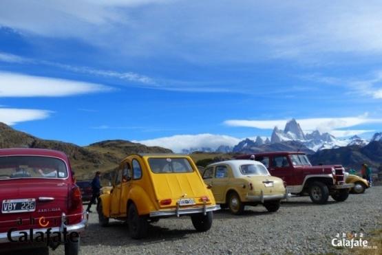 Se larga el 11° Rally de Los Glaciares de Autos Antiguos