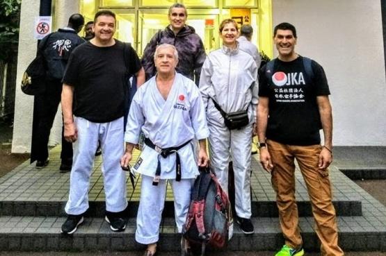Curso y selectivo para el karate local