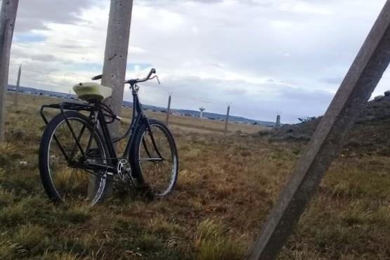 El desafío de pedalear en Río Gallegos