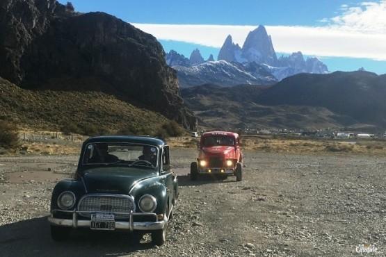 El Rally de los Glaciares llegó a El Chaltén
