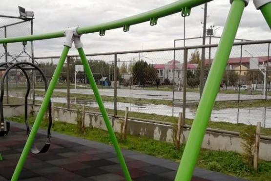 Cada vez menos hamacas en el Parque Urbano de Río Gallegos