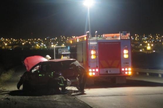 Choque en la ruta complementaria 20 deja tres heridos