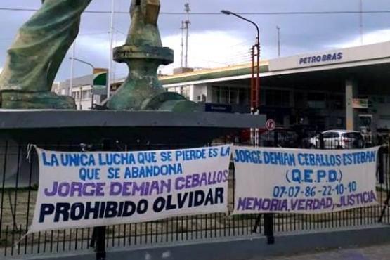 Nuevo pedido de justicia por Demian Ceballos Esteban