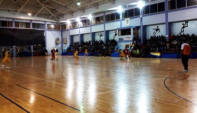 Los partidos se jugaron en el Poli de Río Turbio.