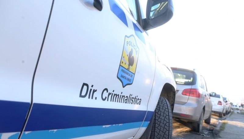 La División Criminalística efectuó pericias en el sitio del incidente. (Archivo)