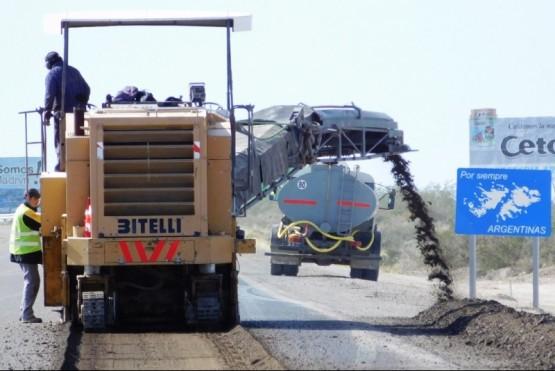 Avanzan varios frentes de la autopista puerto Madryn-Trelew