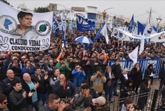Masivo repudio a las políticas de Nación en reclamo de petroleros