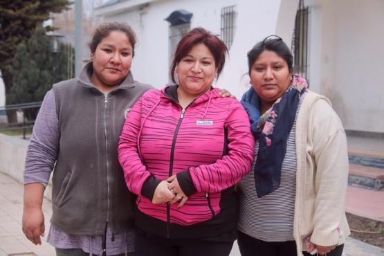 Las hermanas Chocobar esperan conocer en el juicio qué le sucedió con Marcela. (C.G.)