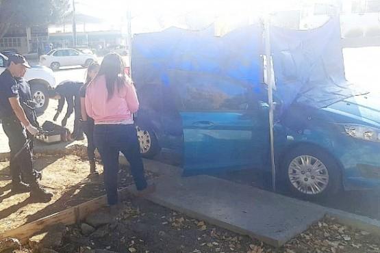 El Ford Fiesta Kinetic, que fue sometido a pericias, pertenece al único preso por el hecho.