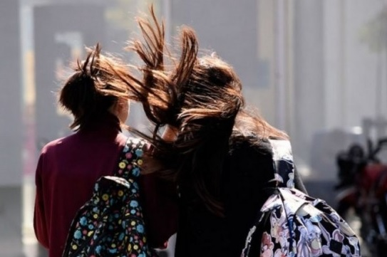 Hay alerta por fuertes vientos en la provincia