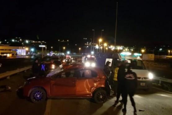 Una mujer chocó en la ruta 3 camino a Rada Tilly