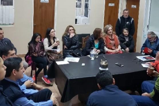 La reunión se realizó en la Comisaría Sexta.