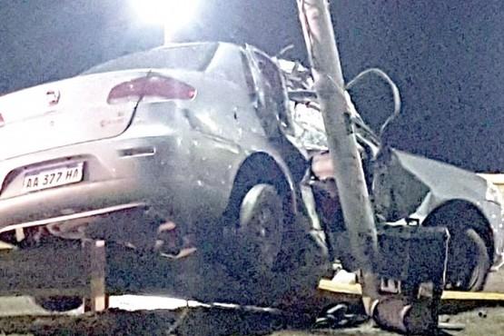 Choque fatal: El alcohol al volante se llevó otra vida