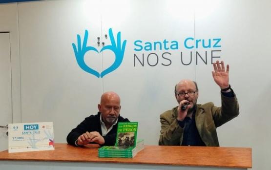 """Se presentó """"Los rengos de Perón"""" en la Feria del Libro"""