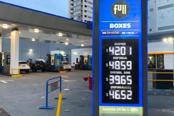 YPF aumentó 4% los precios de los combustibles en todo el país