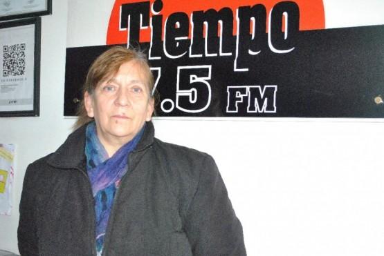 Teresa Ponce de visita en TiempoSur (J.C.C)
