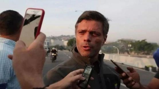 Leopoldo López se refugió en la embajada de Chile en Caracas