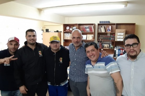 UOCRA recibió a Martín Buzzi