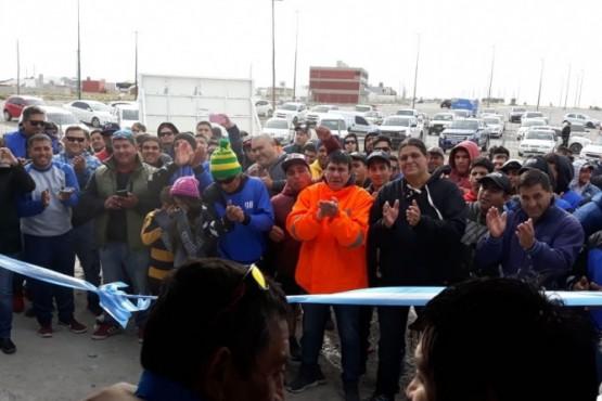 Secretaría de Pesca acompañó la inauguración del Centro gremial del SUPA