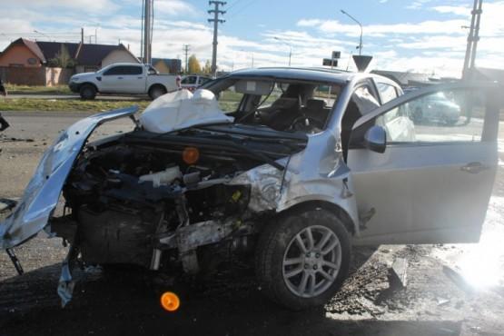 Los heridos de la triple colisión sufrieron lesiones leves