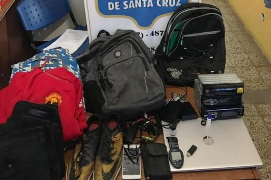 Allanamientos por robos en una iglesia, auto y vivienda