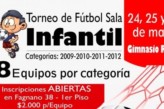 Habrá fútbol infantil por el aniversario de Tiempo FM