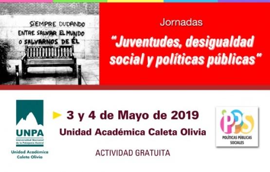 """Se vienen las jornadas """"Juventudes, desigualdad social y políticas públicas"""""""