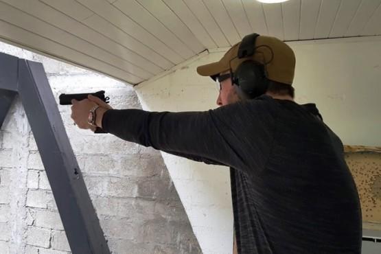 En Pistola 9mm la diferencia fue mínima a favor del ganador.
