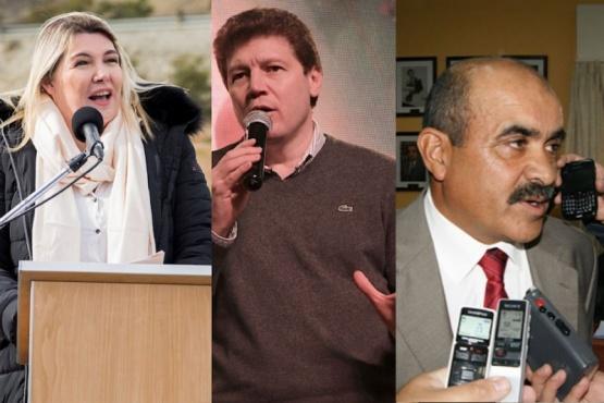 Bertone, Melella y Rodríguez compiten oficialmente por la gobernación
